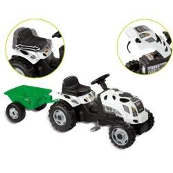 Tractor Cu Pedale Si Remorca Copii SMOBY 33352
