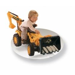Tractor cu remorca si pedale Smoby 33385