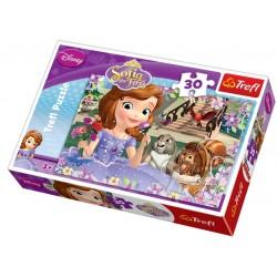 Trefl puzzle 30 piese Sofia