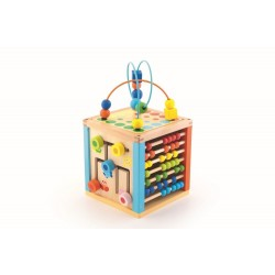 Cub educativ din lemn Trefl 60941