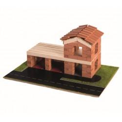 Trefl Brick Statia de pompieri din carmidute ceramice 60966