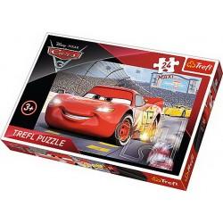 Puzzle 24 piese Maxi Cars Trefl 14250
