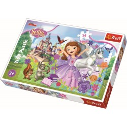 Puzzle 24 piese Sofia Trefl 14270