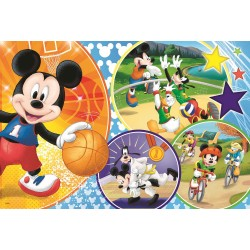 Puzzle 24 piese Mickey Trefl 14291