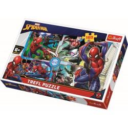 Puzzle 160 piese Spiderman Trefl 15357