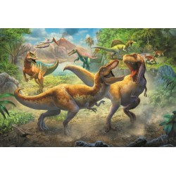 Puzzle 160 piese Dinozauri Trefl 15360