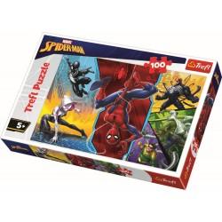 Puzzle 100 piese Spiderman Trefl 16347