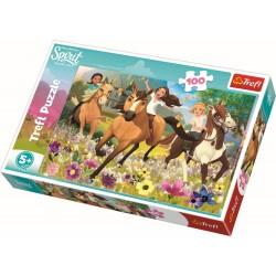 Puzzle 100 piese Spirit Trefl 16362