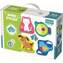 Puzzle Trefl baby animale 36074
