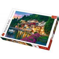 Trefl puzzle 500 piese Lacul Como Italia 37290