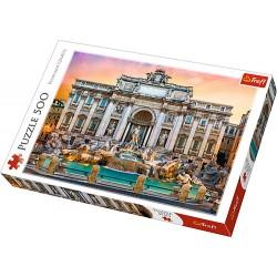 Trefl puzzle 500 piese Fontanna Di Trevi Roma 37292