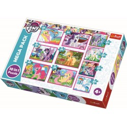 Puzzle Trefl 10in1 Lumea poneilor 90353