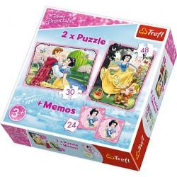 Puzzle 2in1 Alba ca Zapada Trefl 90603