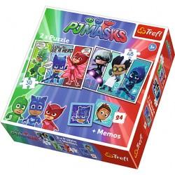 Puzzle 2in1 Eroi in Pijama Trefl 90710