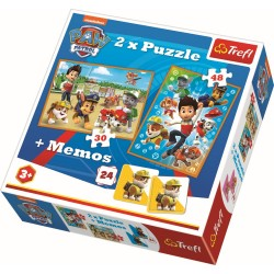 Puzzle 2in1 Patrula Catelusilor Trefl 90790