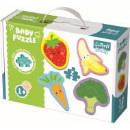 Puzzle baby clasic fructe si legume Trefl 36076