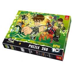 Puzzle 260 piese Ben 10