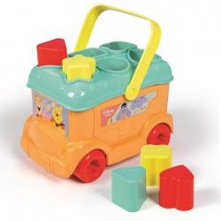 Autobuz cu forme Winnie the Pooh Clementoni 17282