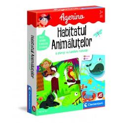 Joc educativ Habitatul animalutelor Clementoni 50352