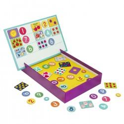 Cutie magnetica invata numerele Clementoni 64034