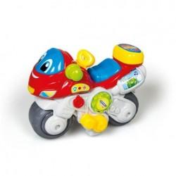 Motocicleta cu sunete si lumini Clementoni 64052