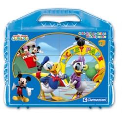 Puzzle 12 cuburi Mickey 41130
