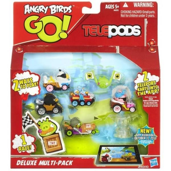 Angry birds go set figurine deluxe