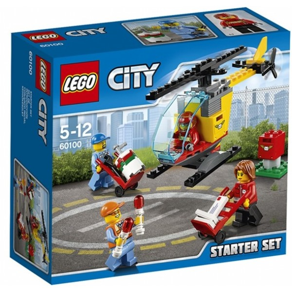 Lego 60100 city set incepatori aeroport
