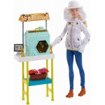 Papusa Barbie set apicultor Mattel DHB63-FRM17