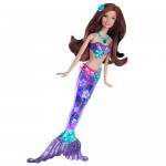 Barbie sirena sclipitoare (bruneta)
