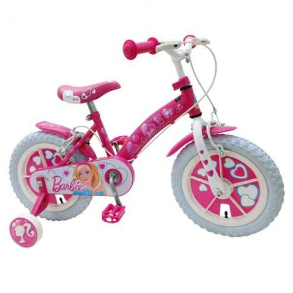 Bicicleta Barbie Stamp 12