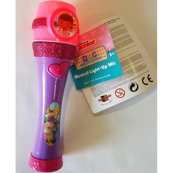 Doctorita plusica microfon cu sunete si lumini