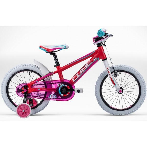 Bicicleta CUBE kid 160 girl 2015