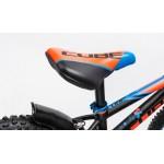 Bicicleta copii CUBE KID 160 Black Flashred 2017