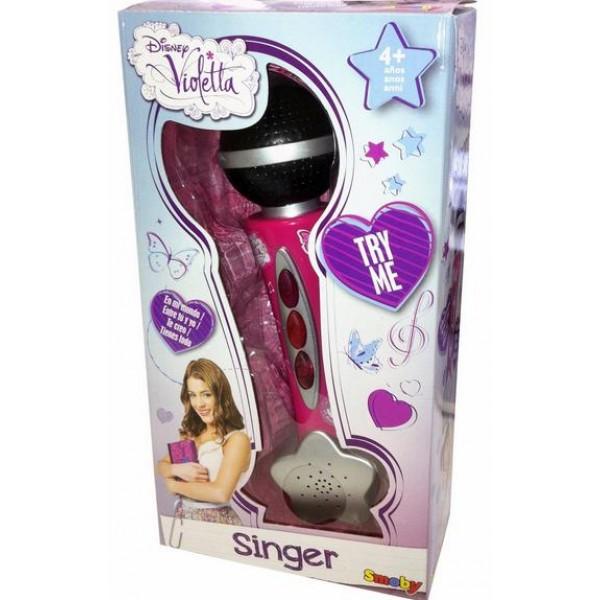 Violetta microfon smoby 27219