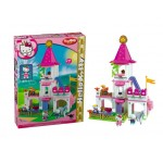 Castel de printese Hello Kitty Big Bloxx