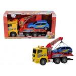 Camion Air Pump trailer cu platforma si masina