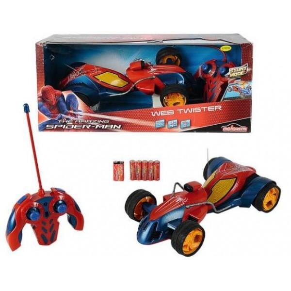 Masina RC Spider-man Web Stunt Car